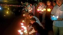 ẢNH: Hoa đăng lung linh trên sông Kỳ Cùng chào đón lễ Phật đản