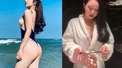 """""""Hot girl ngủ gật"""" cover hit Chipu trong nhà tắm gây xôn xao"""
