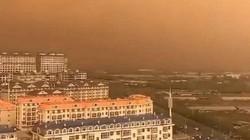 Bầu trời bị ô nhiễm đến mức chuyển thành màu cam ở Trung Quốc