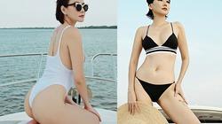 40 tuổi, Dương Yến Ngọc diện bikini khoe dáng gợi cảm bên sông Sài Gòn