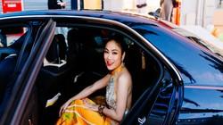Không hở hang chơi trội, hoa hậu xứ Thanh diện áo dài khoe lưng ở Cannes