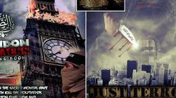 IS đăng poster ghê rợn dọa nhấn chìm New York, London trong biển máu
