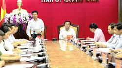 Bộ Chính trị sẽ kiểm tra 10 tổ chức Đảng tại tỉnh Quảng Ninh
