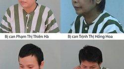 ẢNH-CLIP mới nhất về 4 nữ bị can vụ giết người bỏ xác trong bê tông