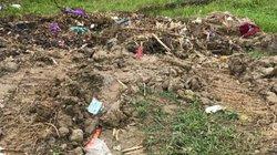 NÓNG: Phát hiện người phụ nữ bị sát hại, phi tang ngoài bãi rác