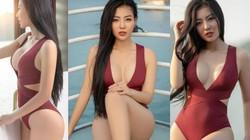 Tuổi 31, diễn viên Thanh Hương vẫn táo bạo mặc bikini nóng bỏng