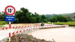 Thái Nguyên: Xót xa hơn 100ha lúa chín chìm trong biển nước