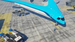 Cận cảnh máy bay hình chữ V cực độc giúp tiết kiệm nhiên liệu của Hà Lan