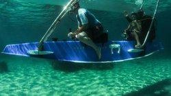 Khám phá đại dương trên con thuyền có thể biến thành tàu ngầm cá nhân