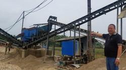 Chống nạn cát tặc, một người dân Phú Thọ chế tạo máy làm cát nhân tạo