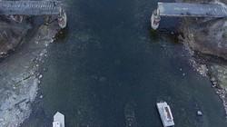 Cây cầu Nga nặng 56 tấn bỗng nhiên biến mất không dấu vết