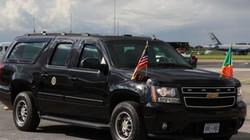 Nhà Trắng chi triệu USD thuê xe của công ty tang lễ cho đoàn ông Trump