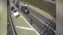 Mỹ: Rợn người cảnh tài xế bỏ chạy, tông thẳng vào cảnh sát làm nhiệm vụ