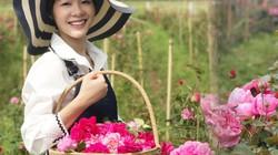 """Mê mẩn vườn hồng khổng lồ của vợ Thành trong """"Về nhà đi con"""""""