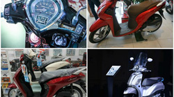 Bộ tứ xe ga Honda, Yamaha đang giảm giá mạnh trong tháng 6/2019