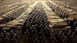 Tại sao không được phá tường giữa các chiến binh trong lăng Tần Thủy Hoàng?