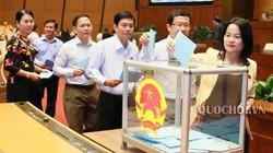 Sáng nay Quốc hội quyết định nhân sự của Tòa án bằng bỏ phiếu kín