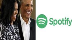 Cựu TT Mỹ Obama sẽ phát hành những câu chuyện truyền cảm hứng trên Spotify