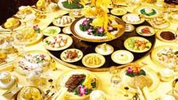 Các bữa tiệc của hoàng gia Trung Hoa sang trọng đến mức nào