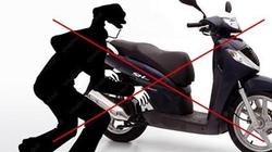 SỐC: Trộm bẻ khóa xe vua tay ga Honda SH trong 2 giây