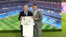 Chiêu mộ thành công Hazard, Chủ tịch Perez nói gì?