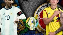 Xem trực tiếp Argentina vs Colombia trên kênh nào?