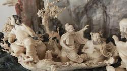 """Tuyệt phẩm điêu khắc """"bát tiên quá hải"""" độc nhất vô nhị ở Việt Nam"""
