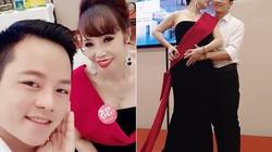 Cô dâu 62 tuổi được chồng hộ tống đi thi hoa hậu gây xôn xao