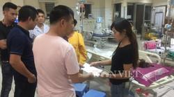 Công ty Long Giang đã đến thăm nạn nhân trong vụ tai nạn ở Hòa Bình