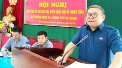 Chủ tịch Hội NDVN Thào Xuân Sùng tiếp xúc cử tri tại tỉnh Hà Giang