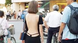 Váy áo khoét lưng thiếu duyên dáng của phụ nữ xứ tỷ dân