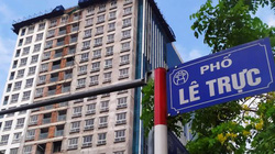 Chủ tịch Nguyễn Đức Chung: Dự án 8B Lê Trực xây dựng sai từ móng, có thể đập cả toà nhà