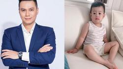 """Hậu ly hôn, Việt Anh nhắn nhủ con trai: """"Đàn ông không lườm, nhìn thẳng vào mặt luôn"""""""