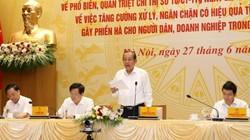 Phó Thủ tướng Trương Hòa Bình: Nạn lót tay, chạy chọt còn nhức nhối