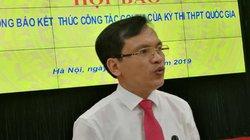 6 cán bộ, 72 thí sinh bị đình chỉ thi trong kỳ thi THPT Quốc gia