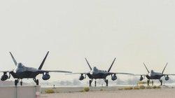 Mỹ lần đầu điều tiêm kích tàng hình tối tân nhất F-22 đến căn cứ sát Iran
