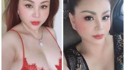 """Clip: Lê Giang U50 tạo dáng sexy, mặc đồ ren khoe """"siêu vòng 1"""""""