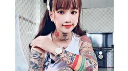 Thanh nữ An Giang, Quảng Nam bị giễu cợt vì xăm kín ngực, tay chân