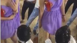 Clip: Trai trẻ sờ soạng phù dâu trong đám cưới gây sốc