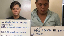 TP.HCM: Bắt 2 nghi phạm thực hiện hàng loạt vụ cướp giật ở nhiều quận