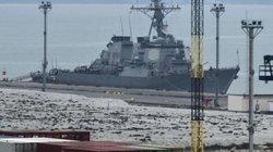 Nóng quân sự: Tàu khu trục Carney của Mỹ đang tiến vào Biển Đen