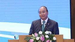 ẢNH: Thủ tướng phát biểu trong lễ ký EVFTA và IPA cùng đối tác EU