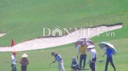Sân Golf Kim Bảng (Hà Nam) tấp nập khách