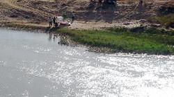 Mò ốc ven sông, một học sinh chết đuối