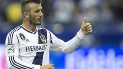 Beckham đoạt giải cầu thủ xuất sắc nhất MLS