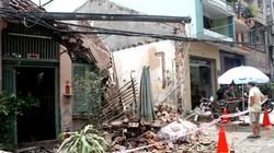 Tan hoang căn nhà 100m2 từ từ bị sập