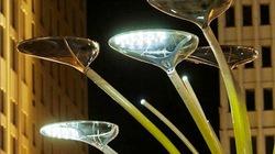 Cây năng lượng mặt trời độc đáo cho Olympic 2012