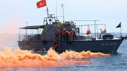 Diễn tập phối hợp tìm kiếm cứu nạn hàng hải năm 2012
