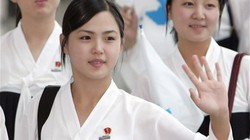 Vợ Kim Jong-un từng tham gia nhiều sự kiện liên Triều?