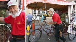 57 tuổi đạp xe qua 16 nước... xem Olympic